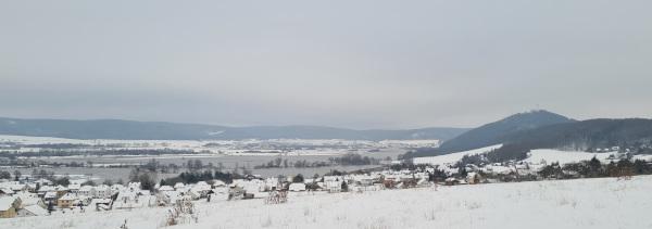 Hochwasser und Schnee