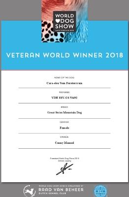 Veteranen Weltsiegerin 2018