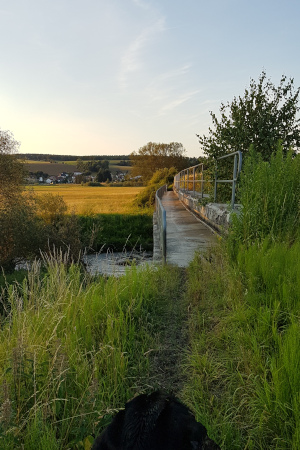 Bahnbrücke Unterrohn