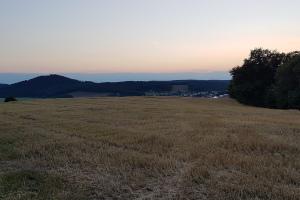 Blick von der Wacht zum Krayenberg