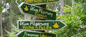 Wegweiser Pilgerweg