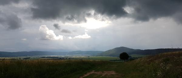 Wolken übern Krayenberg