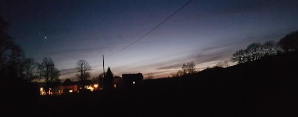 ...kurz vor dem Dorf