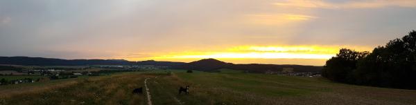 Sonnenuntergang am Krayenberg