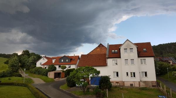 Unwetter Tiefenort 13.06.2019